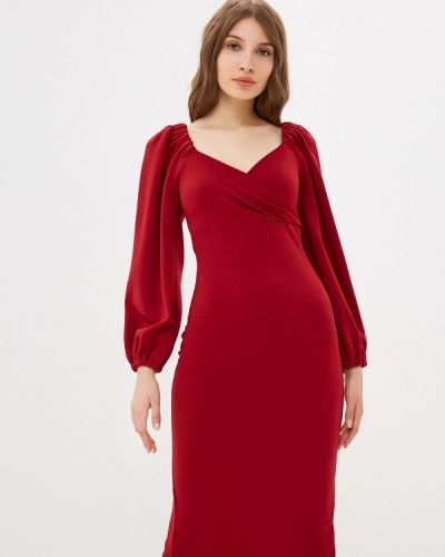 Красное платье Allegri