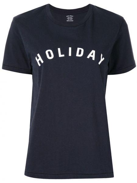 Темно-синий топ Holiday