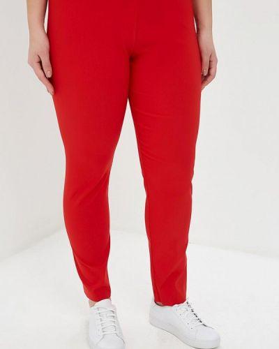 Классические брюки итальянский красный Sophia