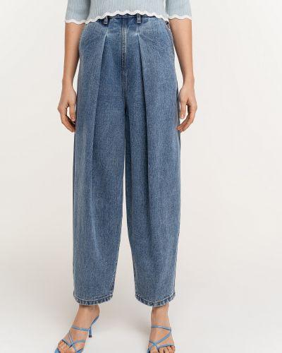 Широкие джинсы с завышенной талией Befree
