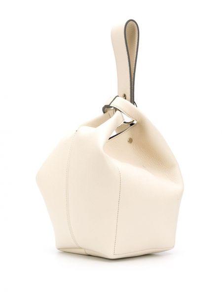 Кожаная сумка-тоут Elena Ghisellini
