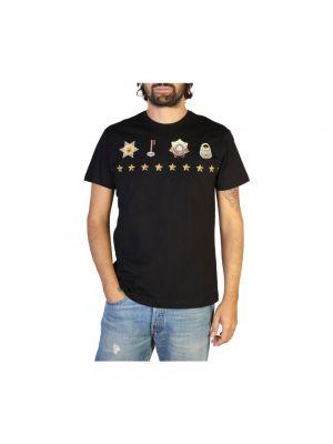 Z rękawami t-shirt okrągły z dekoltem Versace Jeans Couture