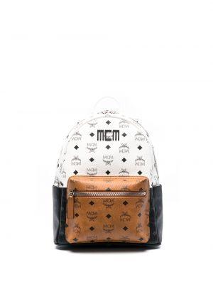 Рюкзак с карманами - белый Mcm