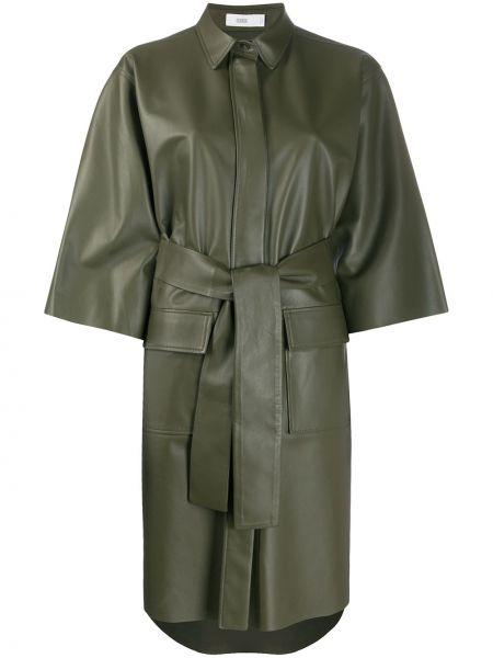 Платье с поясом классическое платье-рубашка Closed