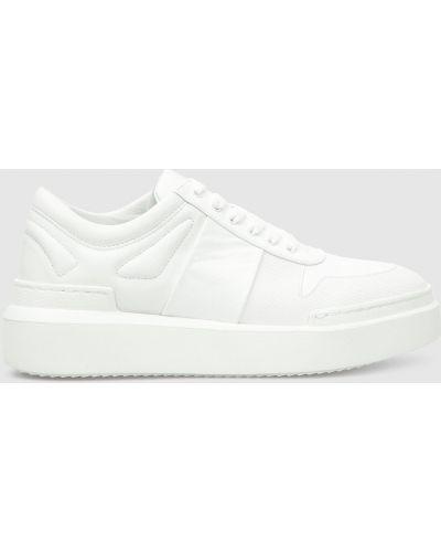 Кожаные кроссовки - белые Babe Pay Pls