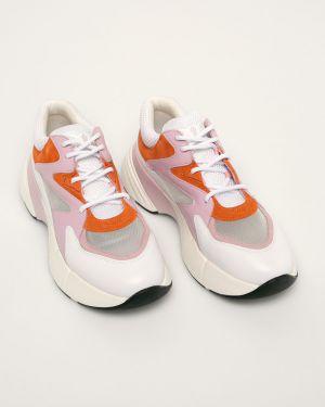 Buty na platformie na obcasie na pięcie Pinko