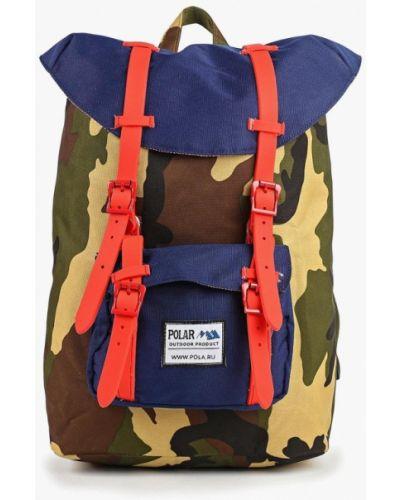 Рюкзак зеленый хаки Polar