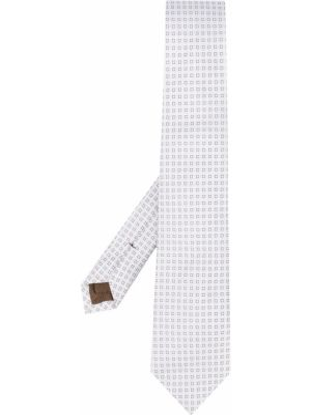Шелковый галстук с вышивкой с подкладкой Church's