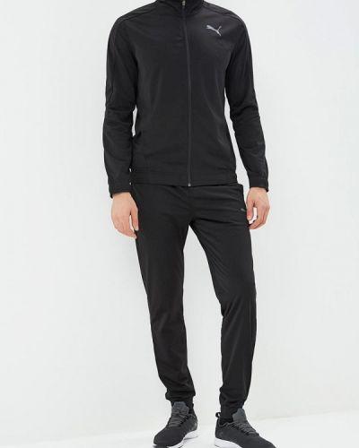 Черный спортивный костюм Puma