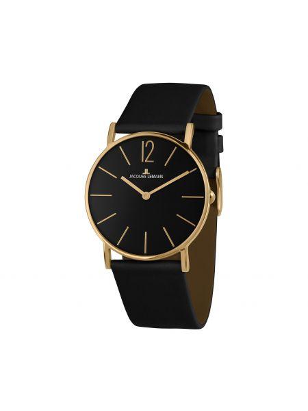Zegarek - czarny Jacques Lemans