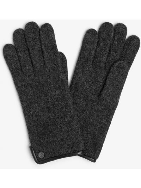 Szare rękawiczki Roeckl