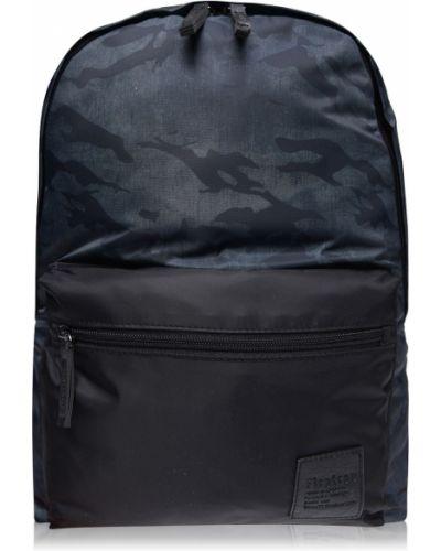 Czarny plecak z printem Firetrap