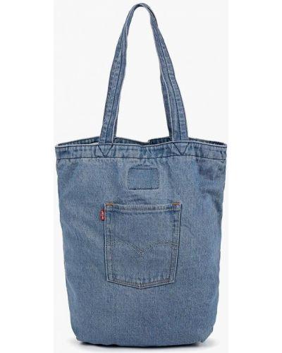 Текстильная сумка - голубая Levi's®