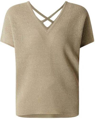 Sweter w paski - zielony Rich & Royal