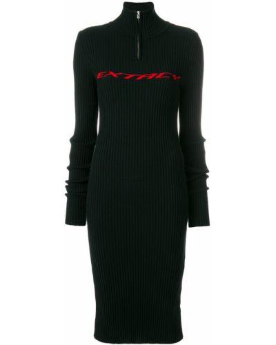 Платье платье-свитер черное Misbhv