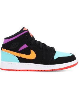 Sneakersy skórzany Nike