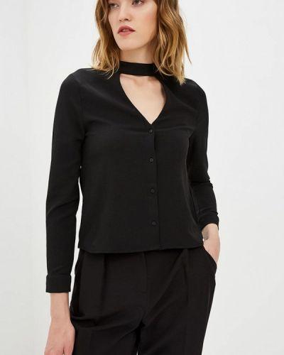 Блузка с бантом черная Jennyfer