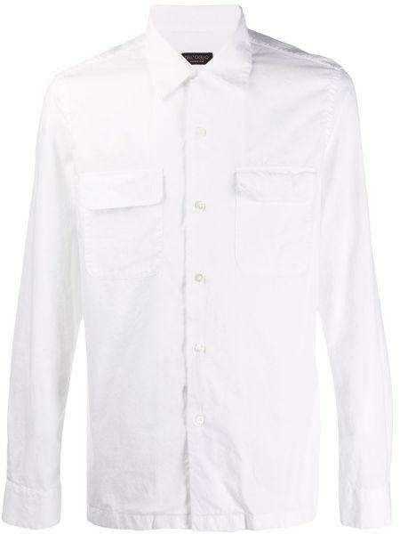 Koszula z długim rękawem prosto długa Dell'oglio