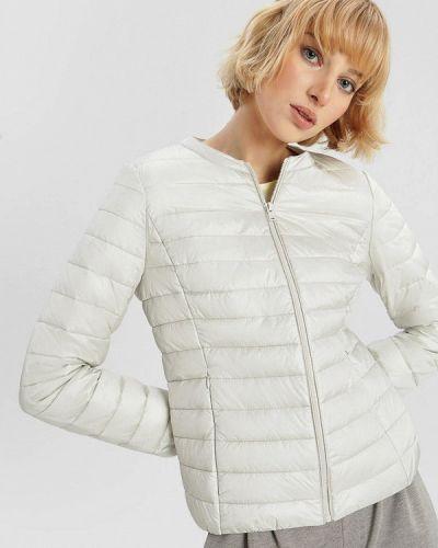 Утепленная белая куртка O'stin
