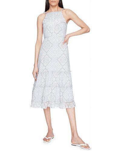 Платье миди с принтом Parker