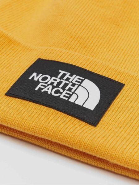 Желтая шапка бини The North Face