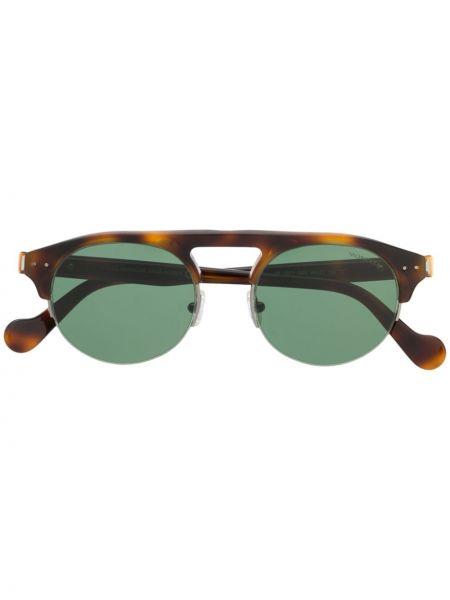 Солнцезащитные очки круглые с завязками Moncler Eyewear