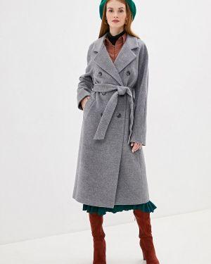 Пальто серое пальто Ylluzzore
