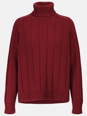Кашемировый свитер - бордовый Loro Piana