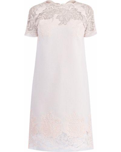Платье мини трапеция ажурное Ermanno Scervino