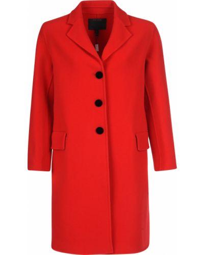Шерстяное пальто - красное Marc Jacobs