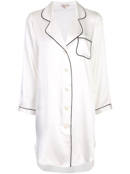 Рубашка белая с карманами Morgan Lane