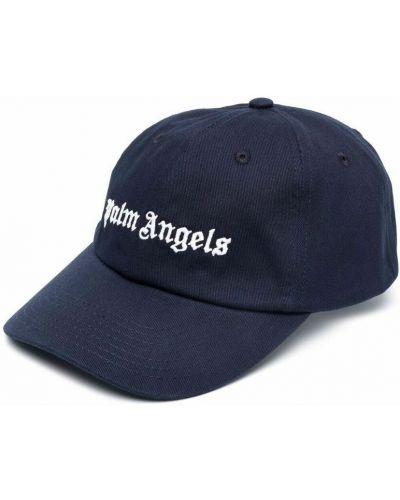Niebieska czapka Palm Angels