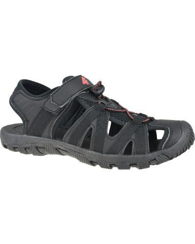 Czarne sandały sportowe 4f