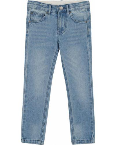 Codziennie bawełna niebieski jeansy Stella Mccartney Kids