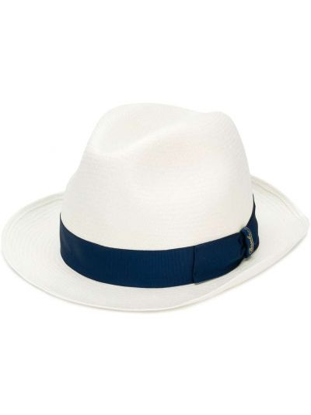 Шляпа с узкими полями - белые Borsalino