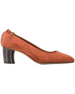 Замшевые туфли коричневый Michel Vivien