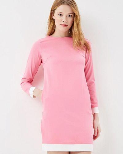 Прямое домашнее розовое платье Sk-house