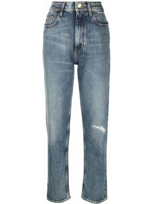 Укороченные джинсы - синие Jacob Cohen