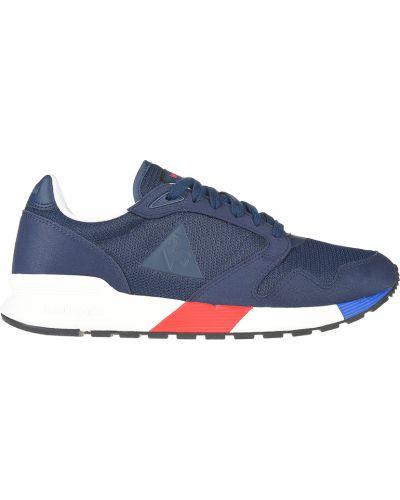 Текстильные кроссовки - синие Le Coq Sportif