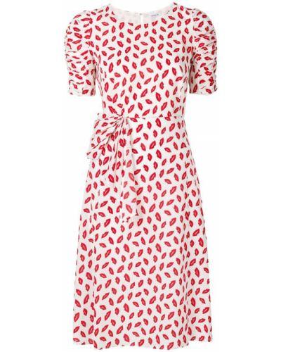 Платье мини льняное с вырезом шелковое P.a.r.o.s.h.