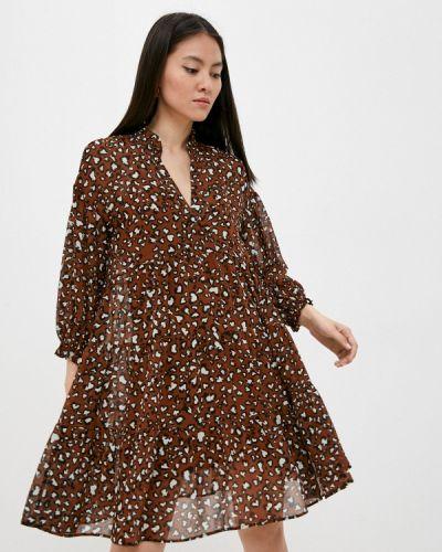 Повседневное платье - коричневое Iblues
