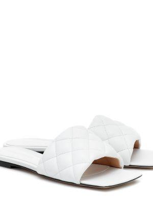 Кожаные туфли на бретелях Bottega Veneta