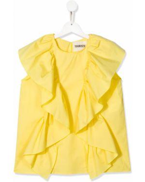 Желтая блузка Touriste