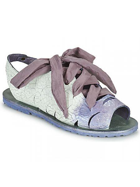 Fioletowe sandały Papucei