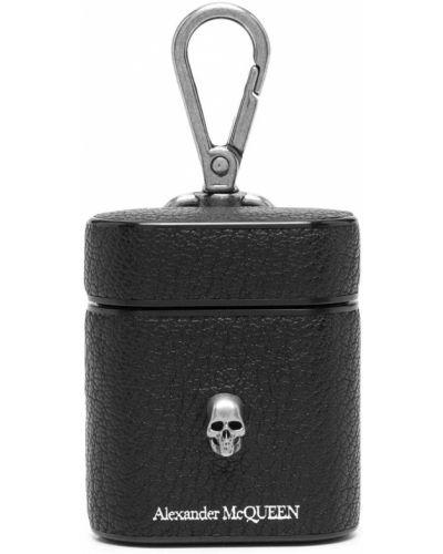 Charms srebrny - czarny Alexander Mcqueen