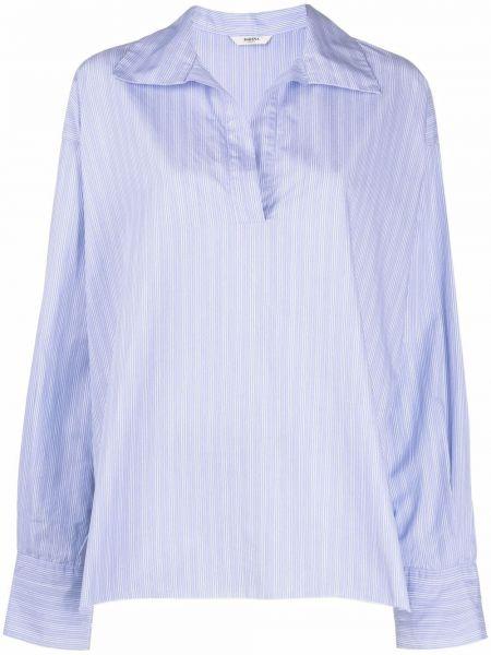 Рубашка с длинным рукавом - синяя Barena