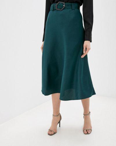 Зеленая юбка свободного кроя Twist & Tango