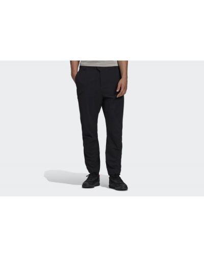 Spodnie z nylonu - czarne Adidas