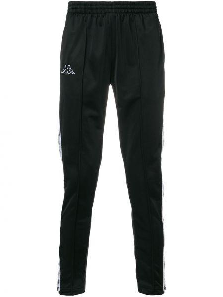 Черные брюки с поясом Kappa