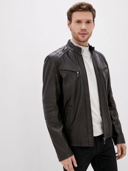 Кожаная куртка коричневый Jorg Weber